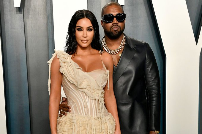 Kanye West and the KarJenner clan wish a happy 40th birthday.