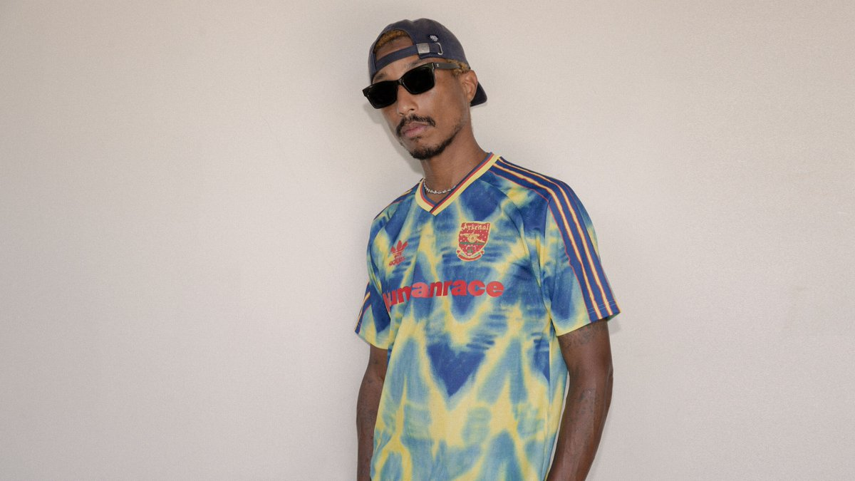 If youre one of the most iconic soccer clubs in the world, you don't just let anyone redesign your jersey. Luckily for us all, @pharrell is not just anyone gq.mn/8MkRJIR