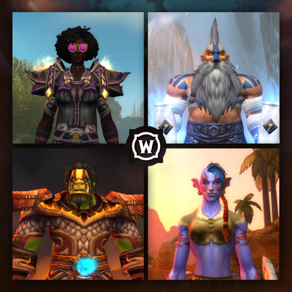 It's been a busy week for the barbers of Azeroth. 💈 Let's see your #ShadowlandsGlowup👇