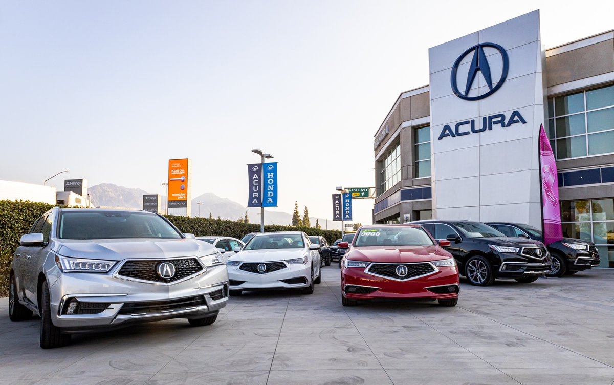 Your go-to #Acura dealer! We take #luxury seriously!   Ⓜ️https://t.co/UmUkz9bNcpⓂ️  #acuranation #luxurycars #mdx #rdx #rlx #ilx #nsx #tlx #acuralife #cardealership #cars #carswithoutlimits #metro #carsforsale #montclair #inlandempire https://t.co/DCNJbm9GG4