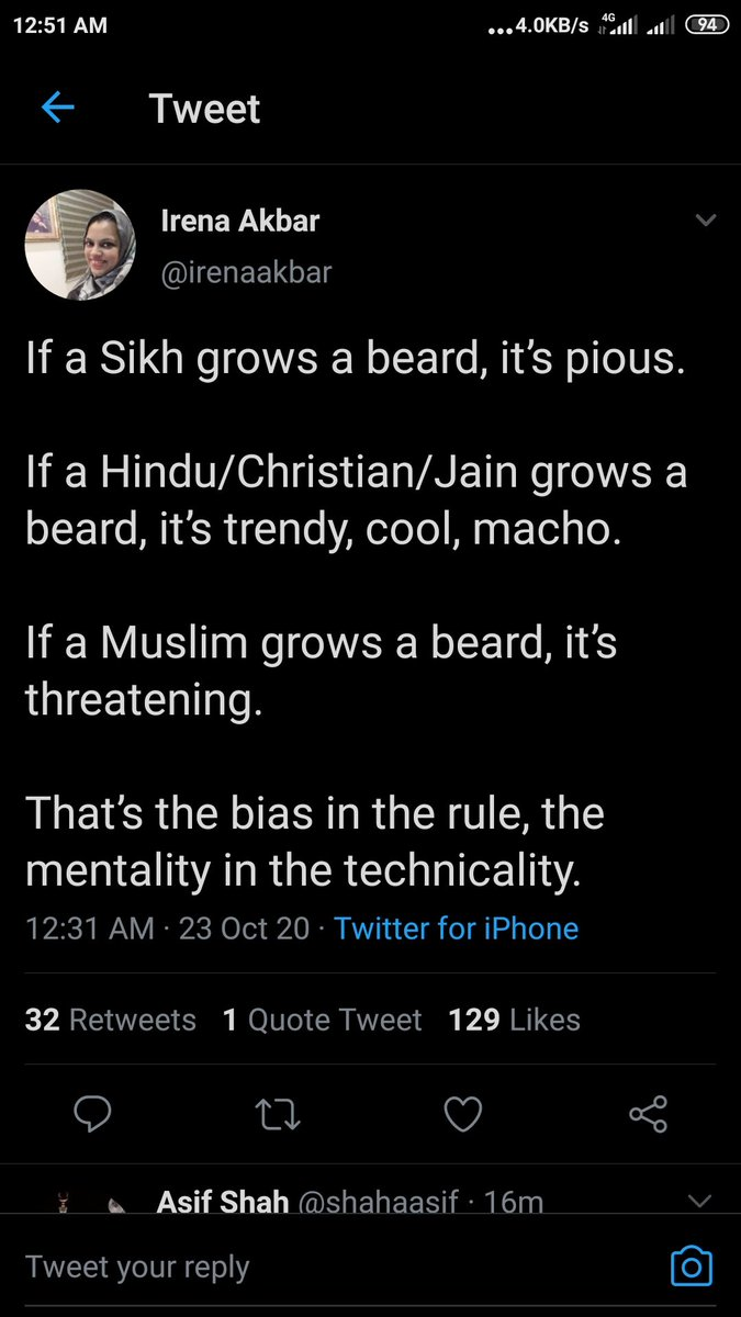Sualeh Keen On Twitter New Islamist Issue On Dead Tissue No Beard Isn T Basic Article Of Faith Compulsory For Muslims As It Is For Khalsas Let That Change Too Let S Have