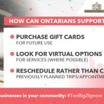Image for the Tweet beginning: How can YOU support #smallbusinesses
