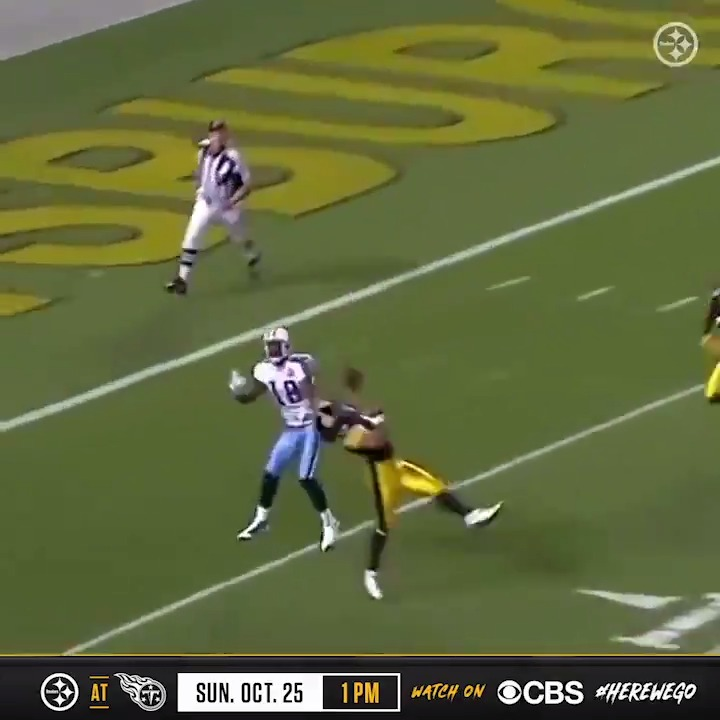That one time when @tpolamalu did this against the Titans 😱 #tbt