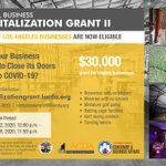 Image for the Tweet beginning: GRANT OPPORTUNITY: Round 2 of