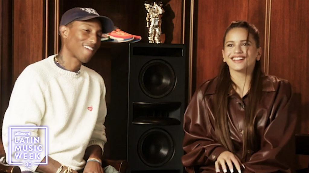 Watch @rosalia and @Pharrell discuss transcending culture globally. #BillboardLatinWeek 🌎 blbrd.cm/c36cFZk