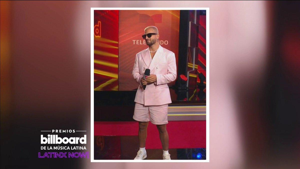 🔥 Repasamos el look de @maluma en los #Billboards2020, ¿qué te pareció el outfit de #PapiJuancho?
