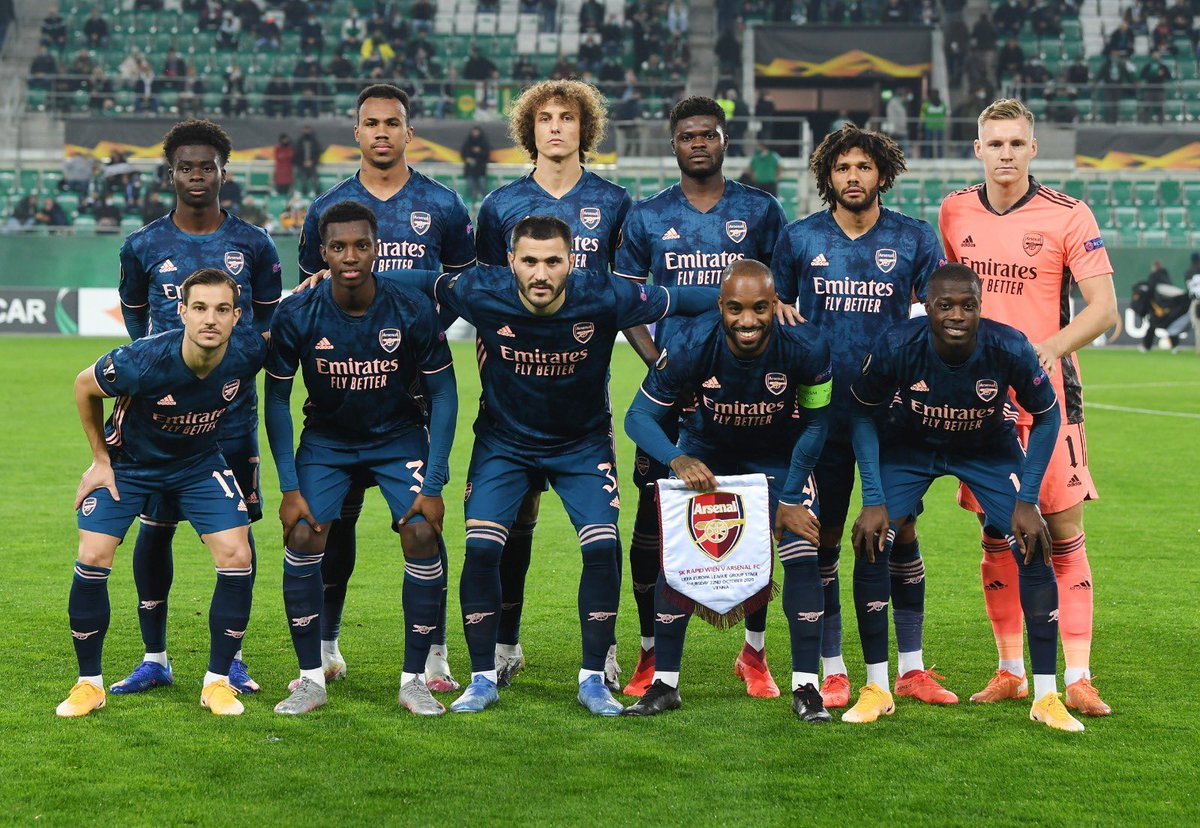 Great to be part of our first win in the UEL. We recover tonight and go again this weekend. Go Gunners! 🔴⚪️