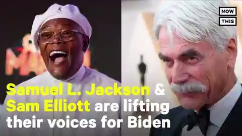 'There is only one America. No Democratic rivers. No Republican mountains. Just this great land and all that's possible on it' — Sam Elliott narrates this patriotic Biden ad calling for unity