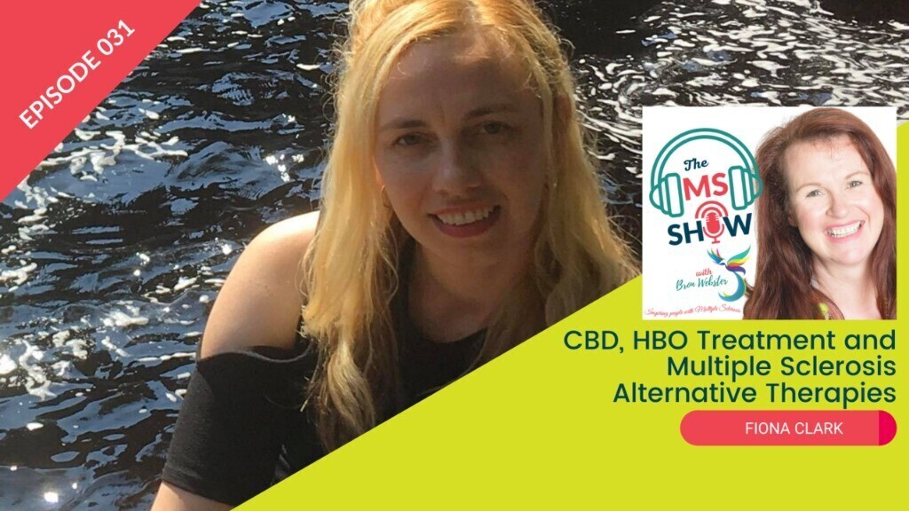 """""""My neurologist laughed in my face"""".  This and more on the new episode of #TheMSshow  Catch this episode as Bron interviews, Fiona Clark, as she talks about her experience with Cannabidiol and Hyperbaric Oxygen Therapy.  🎧https://t.co/u26k63LMGX  #MultipleSclerosis #podcast https://t.co/KyGK9N7FwX"""