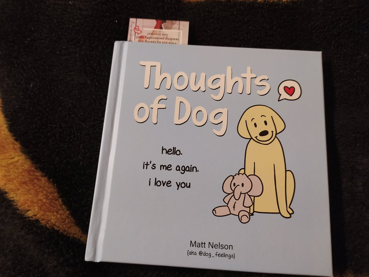 the book that @dog_feelings wrote is the best book on our shelf. my family and I enjoy it very much https://t.co/fAhBlDMb2b