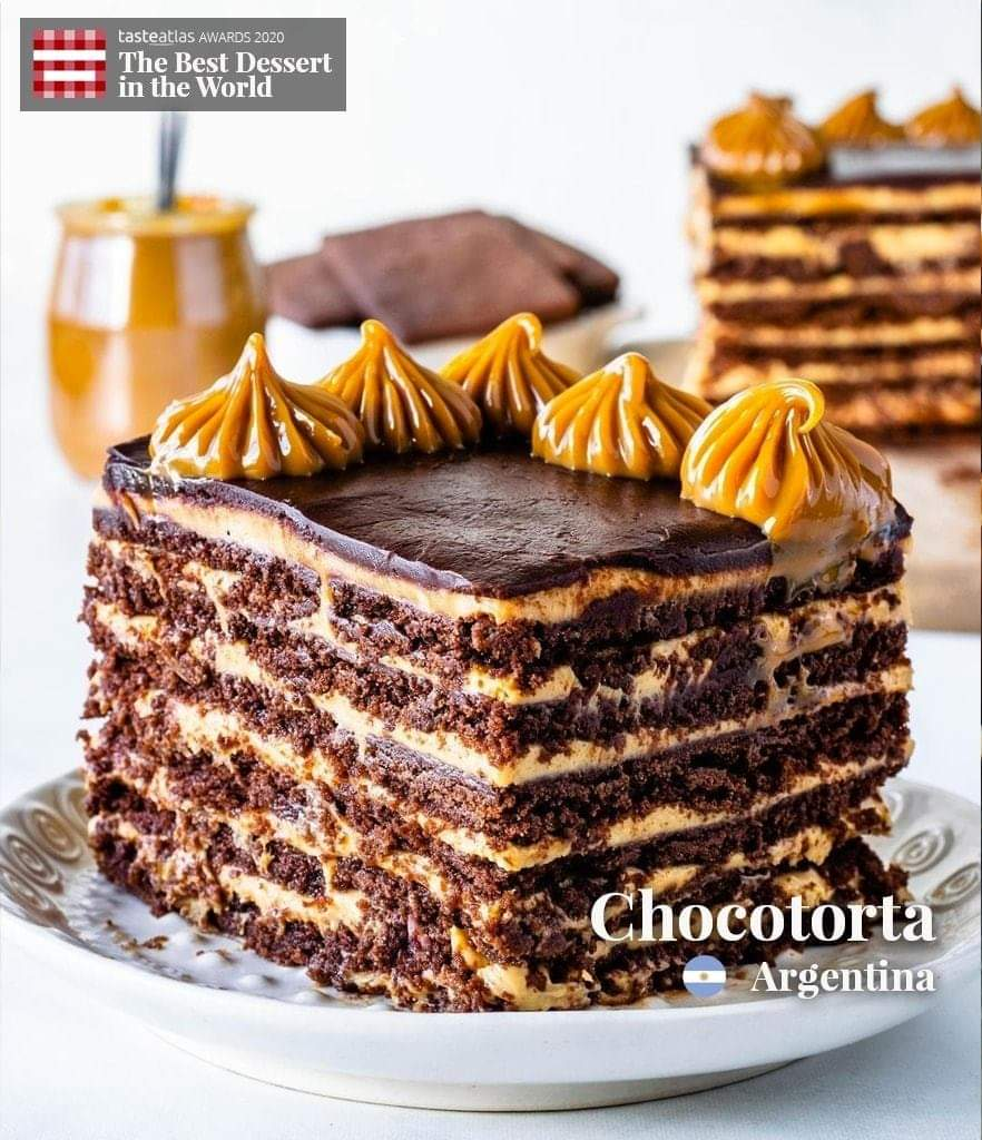 According to your ratings on TasteAtlas, #Chocotorta 🇦🇷 is named #1 Best #dessert in the world in 2020. All winners here: https://t.co/E0wiqKUQqK  More desserts: https://t.co/pHqV9z6KHg  📷 https://t.co/VaDJ04Zjfe https://t.co/5thEMRdWtH