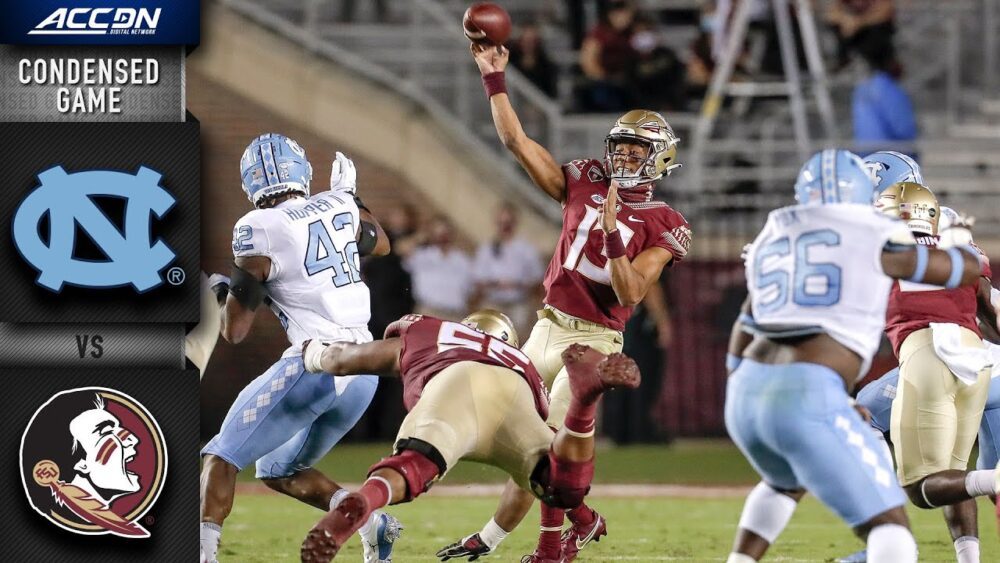 North Carolina vs. Florida State Condensed Game | 2020 ACC Football https://t.co/kGybCNe3Ge https://t.co/C1pjfLp0p9