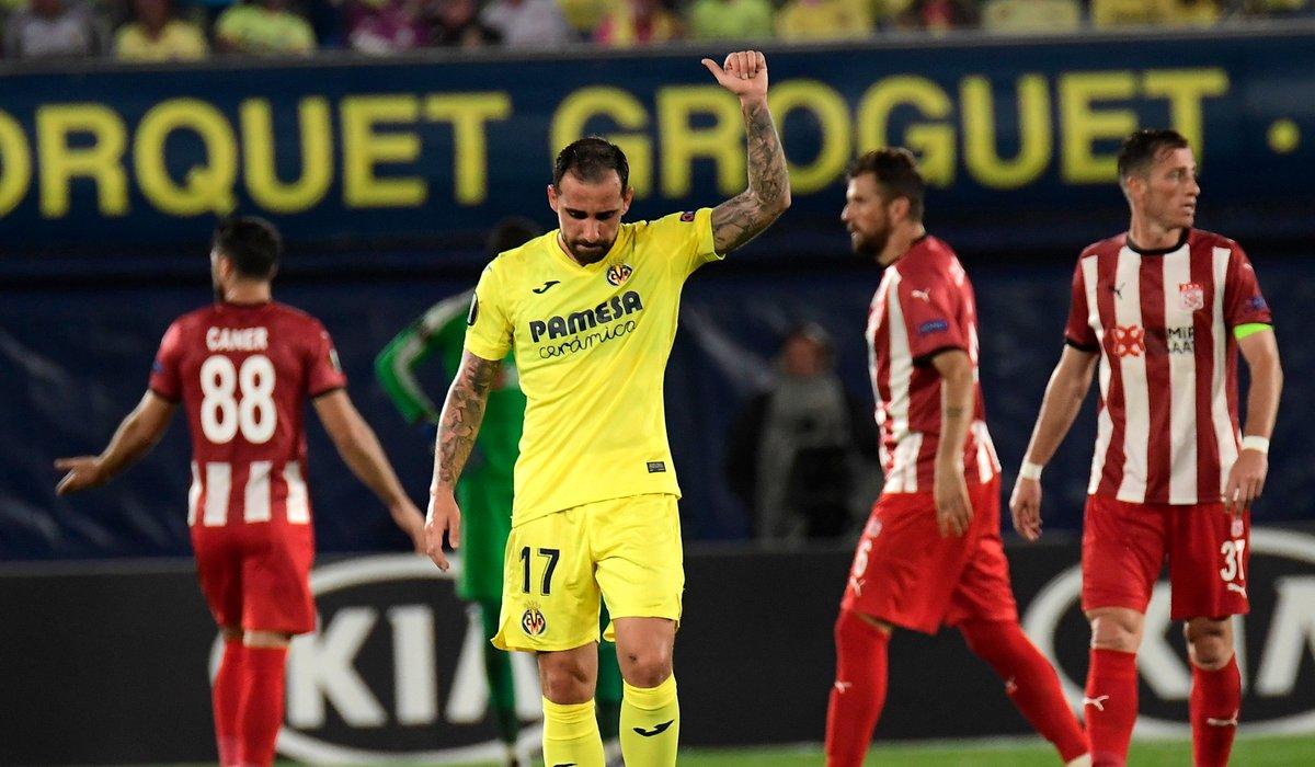 🟡 Villarreal win an eight-goal thriller against Sivasspor! 😅  ⚽️ Takefusa Kubo ⚽️ Carlos Bacca ⚽️ Juan Foyth ⚽️ Paco Alcácer ⚽️ Paco Alcácer  #UEL https://t.co/WBy2lz3ZLr