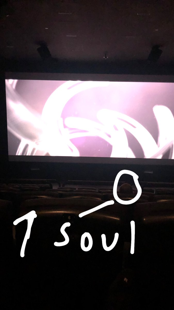 The one other lonely soul in the movies lol https://t.co/IIeUwhxKC4