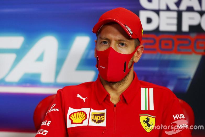 #F1 #PortugueseGP 🇵🇹 2020 PressConference #Vettel @ScuderiaFerrari #ForzaFerrari #SebastianVettel #Ferrari #Seb5 @F1 https://t.co/zFplKjosQs
