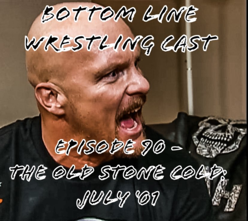Episode 90- The Old Stone Cold: July '01 is now available!!  The Old Stone Cold is Back just in time for the Invasion!!... or is he!?   Apple: https://t.co/mNxerZp5mT  Spotify: https://t.co/iwROmuvmF8  #WrestlingCommunity #StoneCold #WWE https://t.co/K65spxlNqE