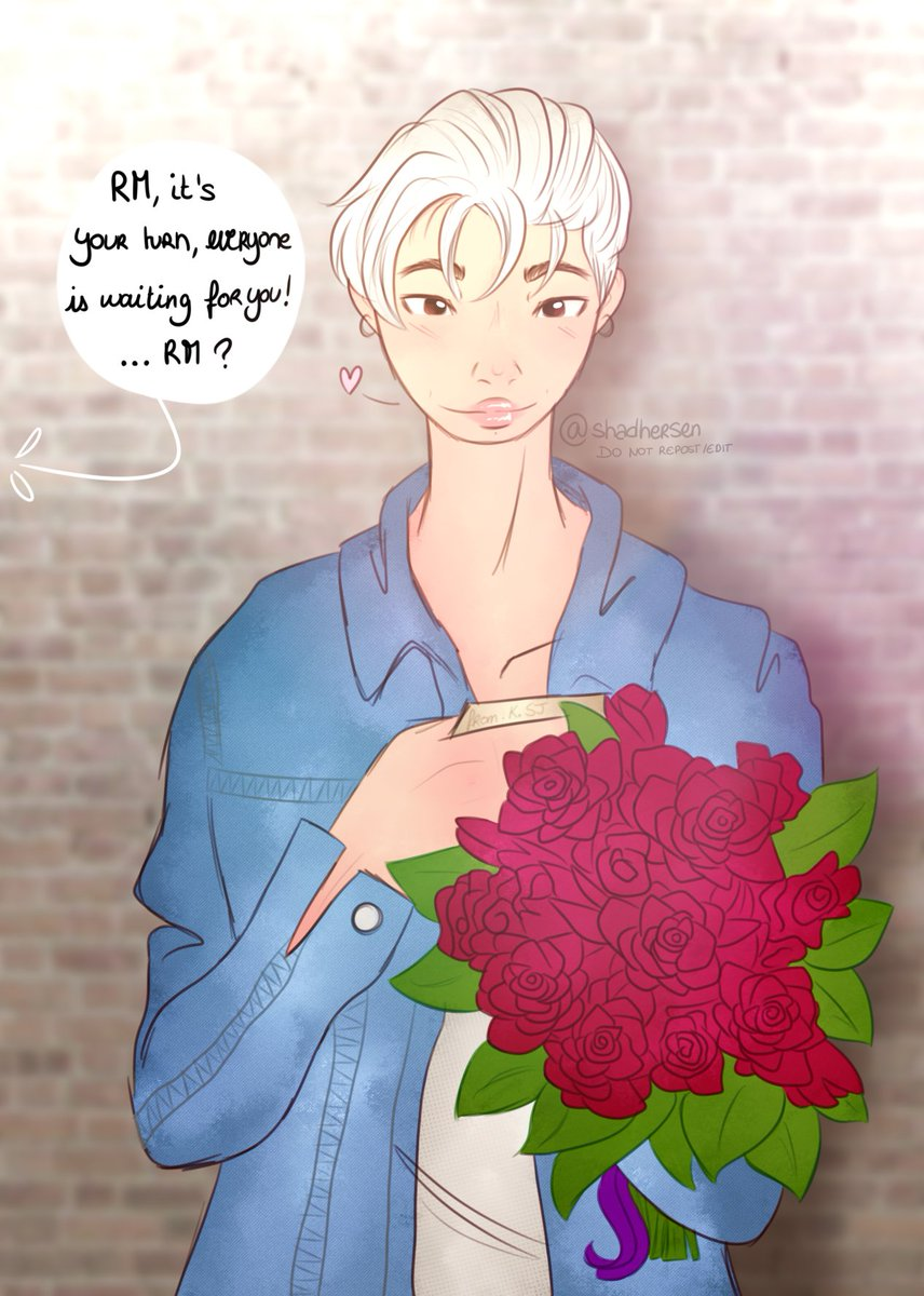 so i send this drabble to @v_niverse two days ago and decided to make a fanart out of it. what jin wrote to namjoon is up to you 👀  #BTS #btsfanart #RM #NAMJOON #SEOKJIN #JIN #namjin https://t.co/182pnlfGjO