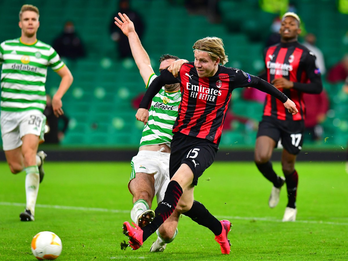 Europa League results: Celtic come up short in comeback against AC Milan as Leicester and Rangers win https://t.co/KQWyXBCGFC https://t.co/NwZL8oSopL