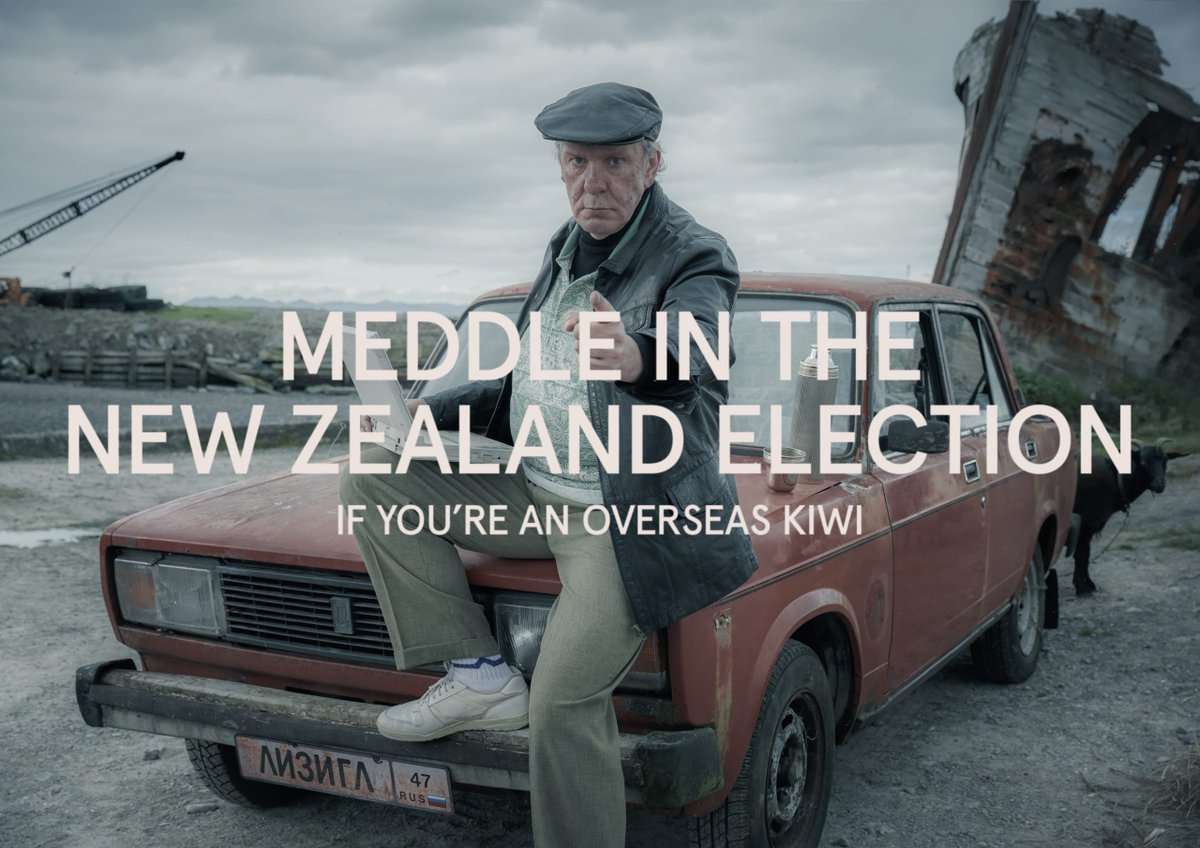 Special Group New Zealand, Poem and Sweetshop drive NZ citizens to vote in federal election https://t.co/ajB2TI4gc2 https://t.co/Q9KBB2I5AW