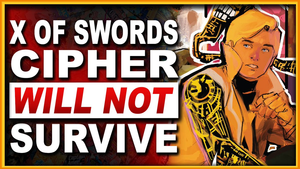 BlerdWithoutFear - #ICYMI The #XofSwords crossover has given all of us plenty to look forward to, except for Douglass Ramsey (aka Cipher)! Check out my #NewMutants video to find out why!