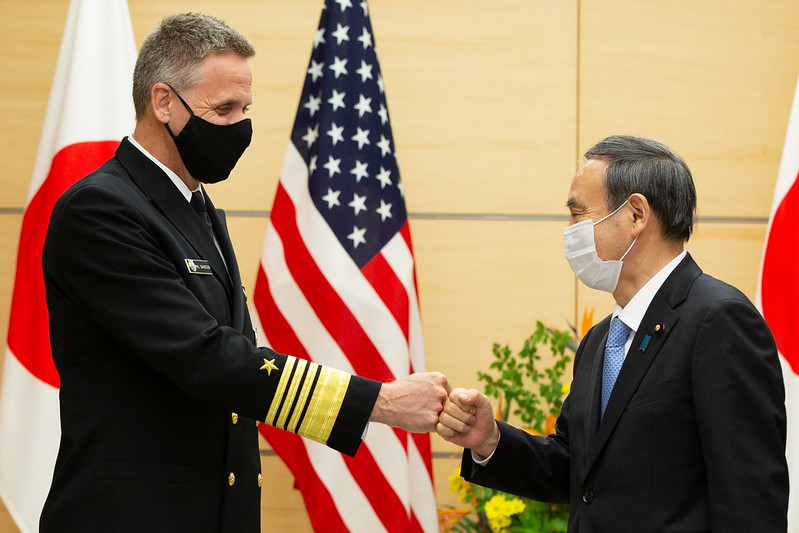 "U.S. Forces Japan on Twitter: ""Adm. Phil Davidson, Commander of @INDOPACOM  , met with Prime Minister Suga in Tokyo, 22 October 2020.… """