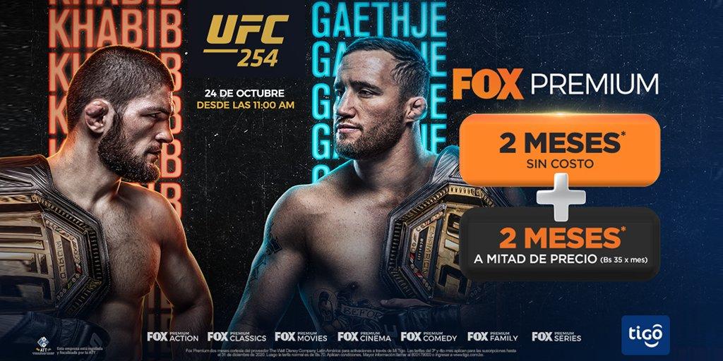 #UFC240 Nurmagomedov vs. Gaethje EN VIVO este sábado 24 de octubre por #FoxPremium 🔥👊 > Si aún no lo tienes actívalo tu mismo ingresando aquí https://t.co/M7h6c4tkcv y recibe todos estos beneficios 👇 https://t.co/Ayg6MfGPgb