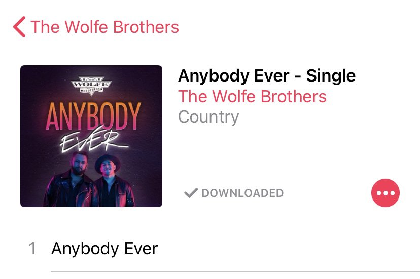 Downloaded this awesome track today give it a listen and support live music @Wolfe_Brothers #newmusic #greattrack #banger https://t.co/bH2OnMLjmI
