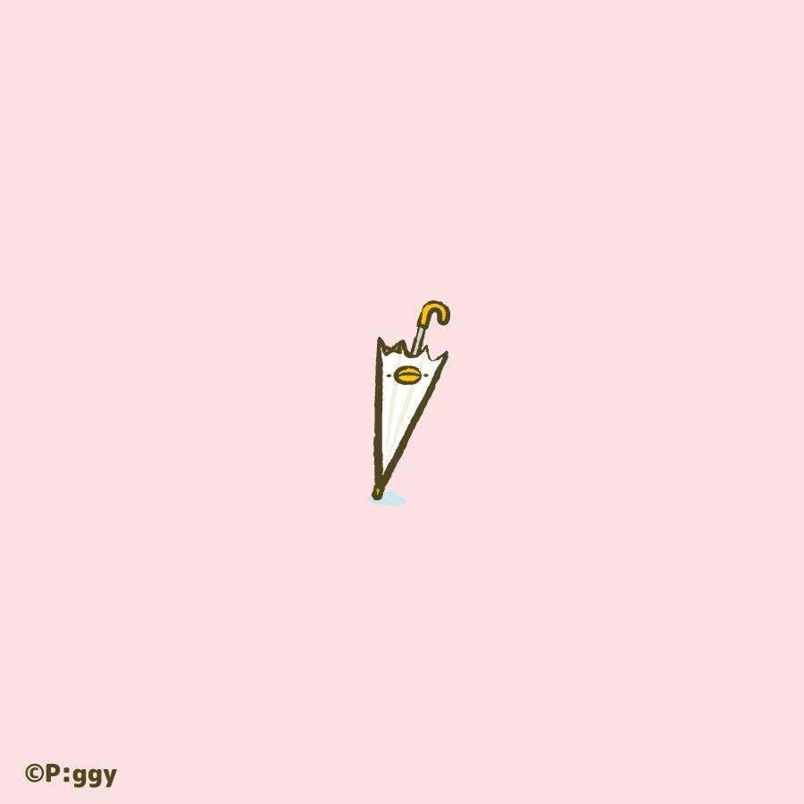 雨が止んだあと。  今日もいい日になりますように✨  #ピヨピヨちぴよ #イラスト #Illustration #傘 https://t.co/QGABkxgx5A