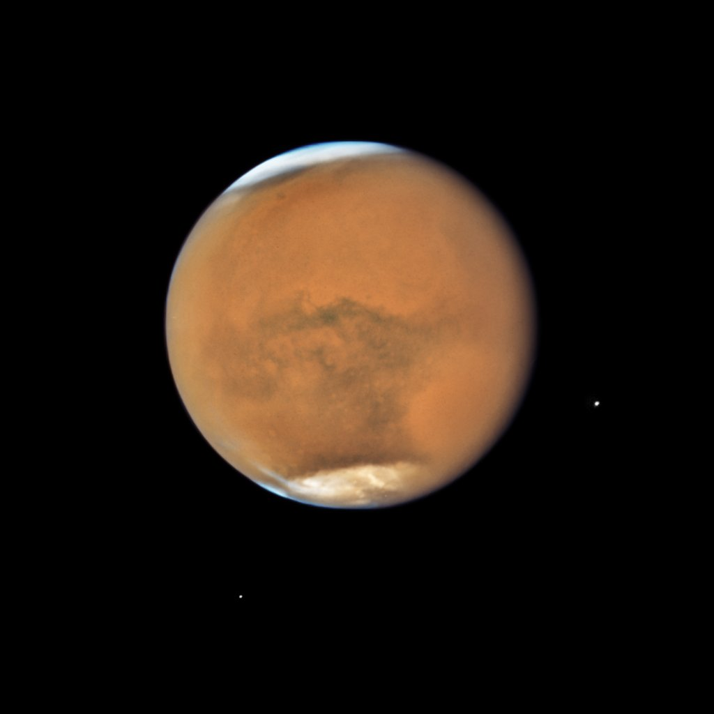 Watch the skies! 🔴 This October, for the first time in over 2 years, Mars outshines Jupiter as the 3rd brightest object in the night sky. Why? Mars is at opposition & in its closest proximity to Earth, as close as 40 million miles away. More: go.nasa.gov/36Sknco