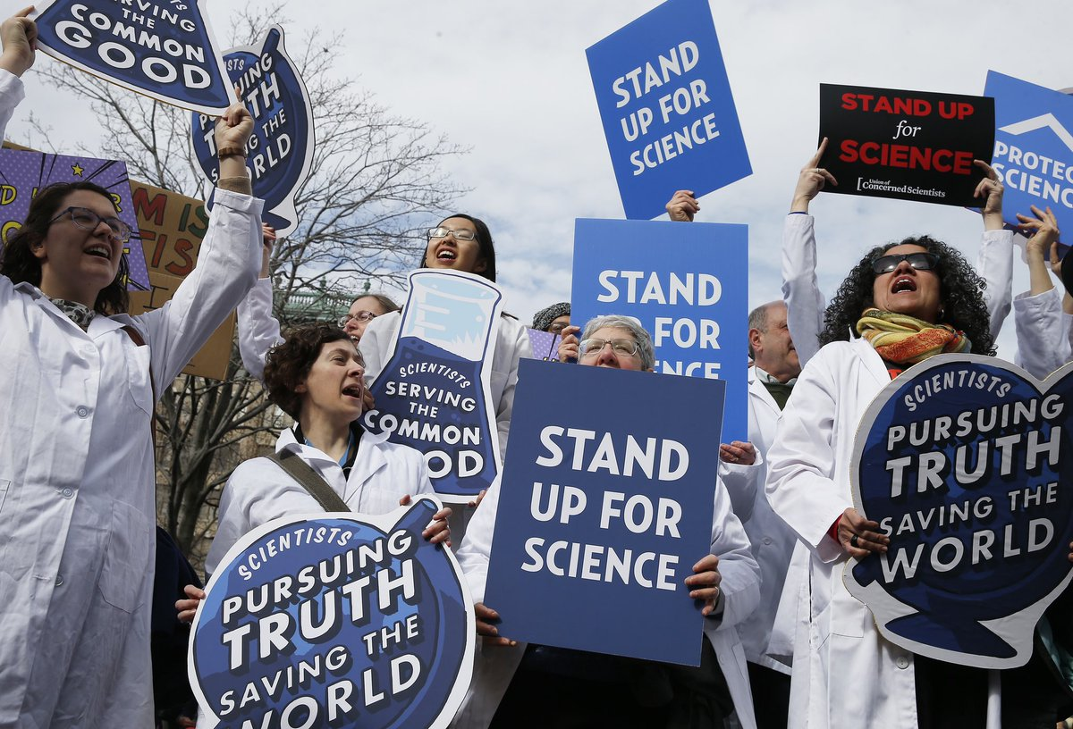 This Administration's systematic efforts to undermine, discredit, dismiss, fire, disempower & diminish the contributions of scientists, have weakened our public institutions, slowed the pace of scientific inquiry, and profoundly damaged America's standing in the world. 10/11