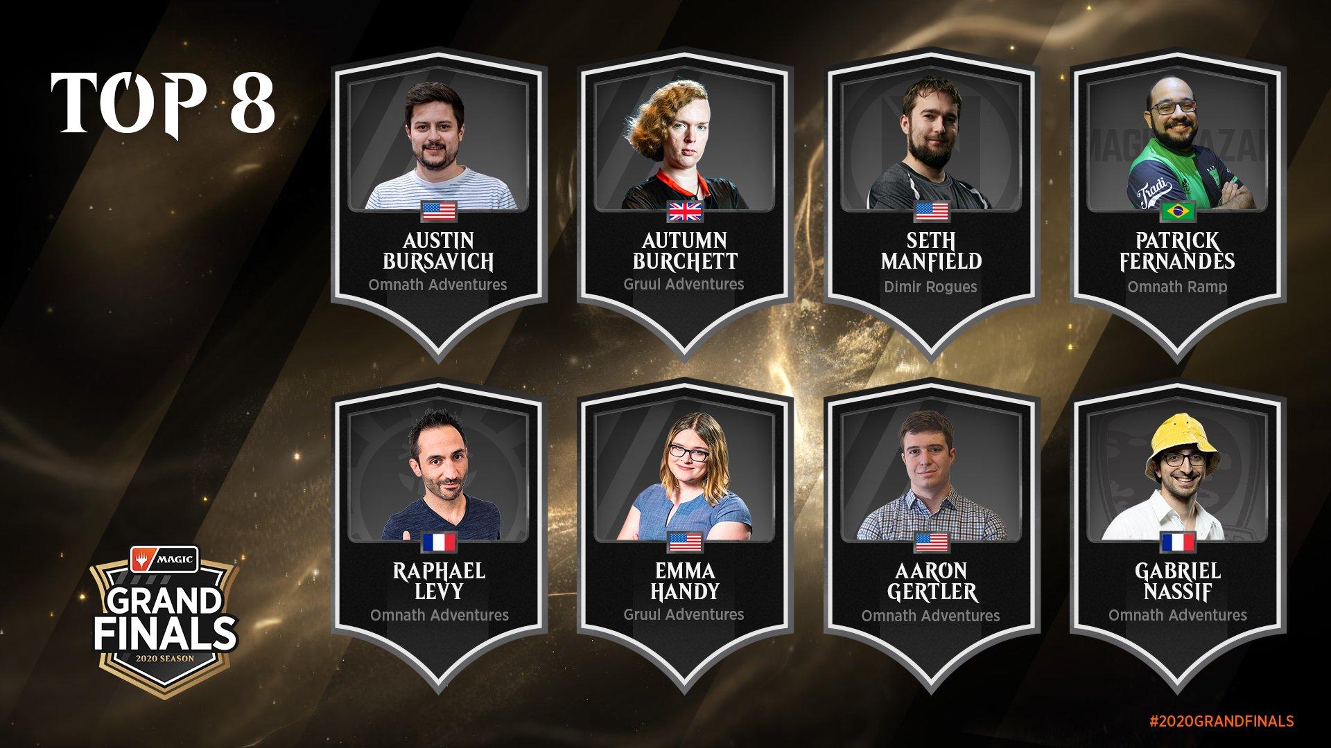 Top 8 Grand Finals