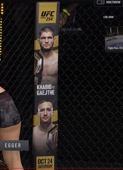 🧐 maybe they should just go with Khabib vs Justin 😂 https://t.co/T6bjvymi2d