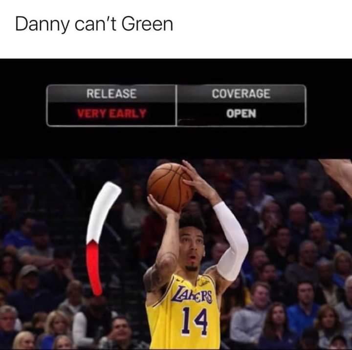 LMBO!!!! #LakeShow #HEATTwitter #NBA #NBATwitterLive #WNBA #NBATwitter #NBATogether #NBATogetherLive #NBAFinals #NBAPlayoffs #DannyGreen #DannyBrick #DannyPhantom https://t.co/brEQpeTnct