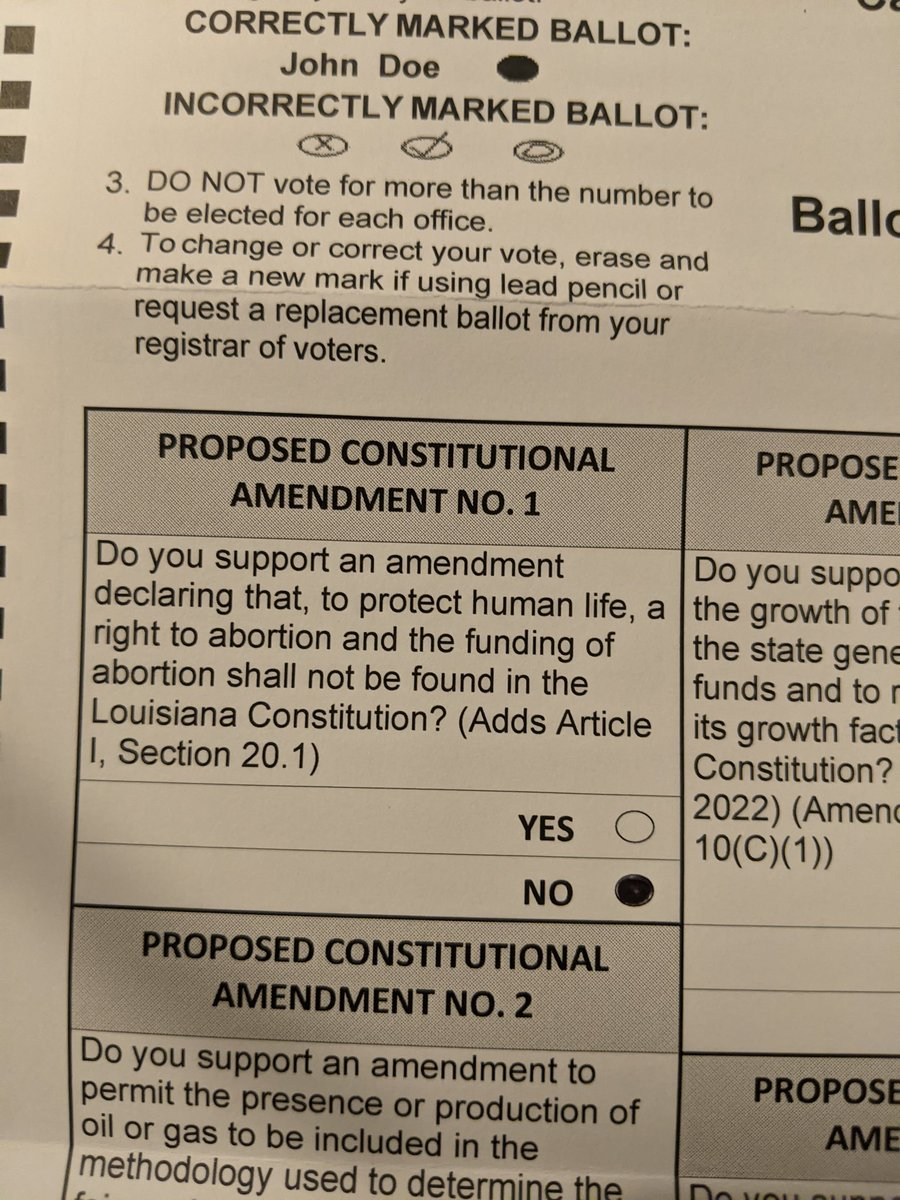 VOTE NO ON AMENDMENT ONE!! THIS IS WHAT THAT WILL LOOK LIKE ON AN ABSENTEE BALLOT💗