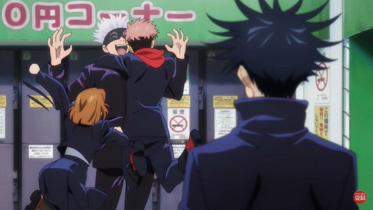Jujutsu Kaisen On Twitter Jujutsu Kaisen Episode 3 Images Via Jump Special Anime Festa