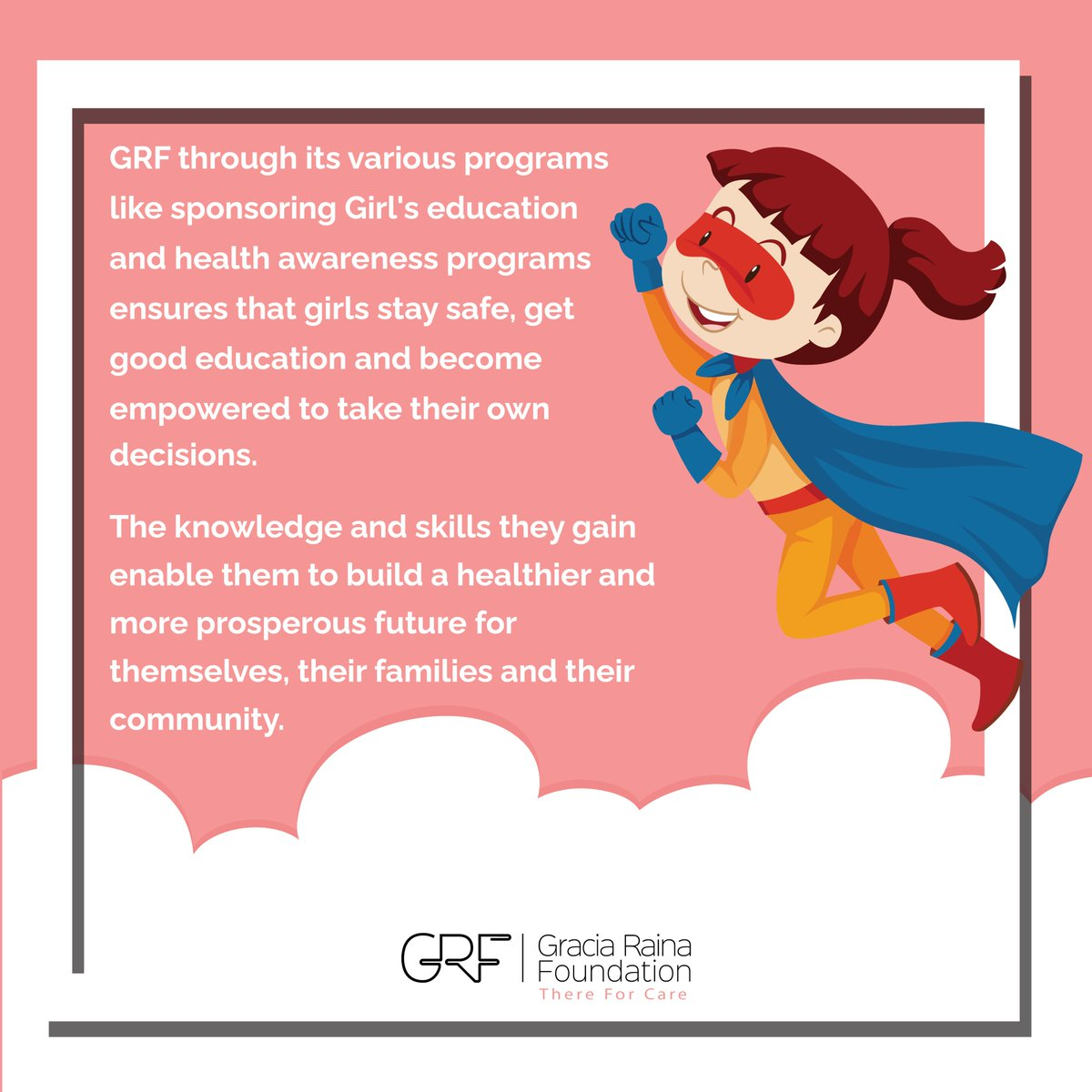 Girls are pillars of society, let's give them a voice by empowering them and let's keep doing our bit until every girl has the opportunity she deserves to have. #InternationalDayOfGirlChild