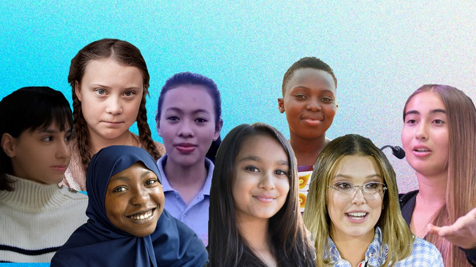 Meet 8 girls who are changing the world and working on the front lines of movements for social and racial equality: https://t.co/JghLmMCiYN #GenerationEquality | #DayoftheGirl https://t.co/kwvjNohOA0