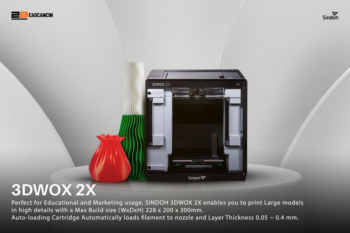 Now you can have the amazing 3D products. With touch screen and voice guidance, you can create whatever you want to enrich your students or to print the 3D products you wish to have for advertising purposes. Website: https://t.co/vh2QVpJgiT UAE: +971450815 KSA: +966538452813 https://t.co/hyiLE8bmp2