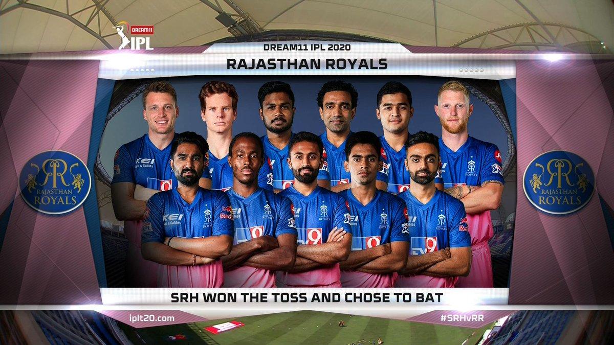 Rajasthan royals playing xi