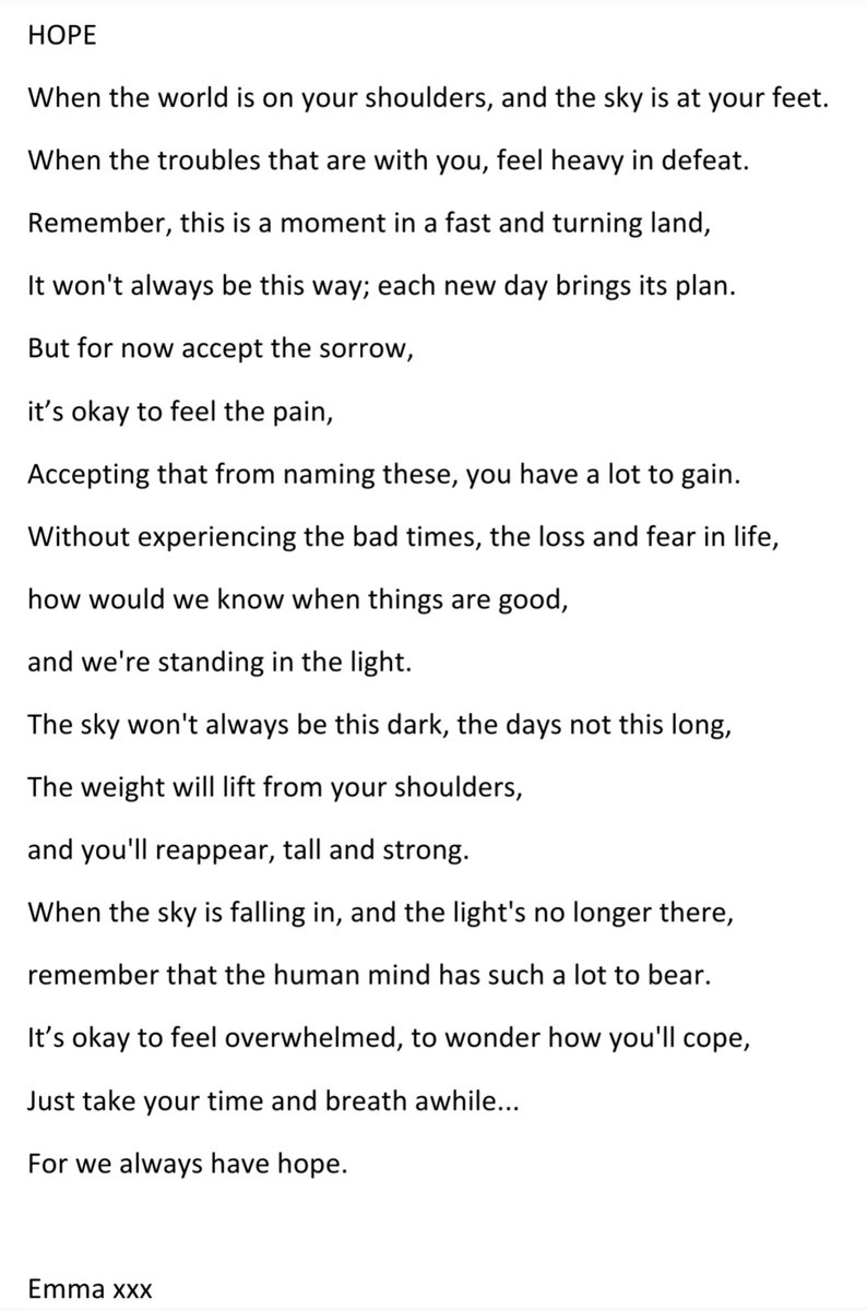 Been writing again, inspired by Laura Ding-Edwards 'The Mountain'. This is for anyone struggling today... #MentalHealthAwareness #notjustoneday https://t.co/KJS67MibK0