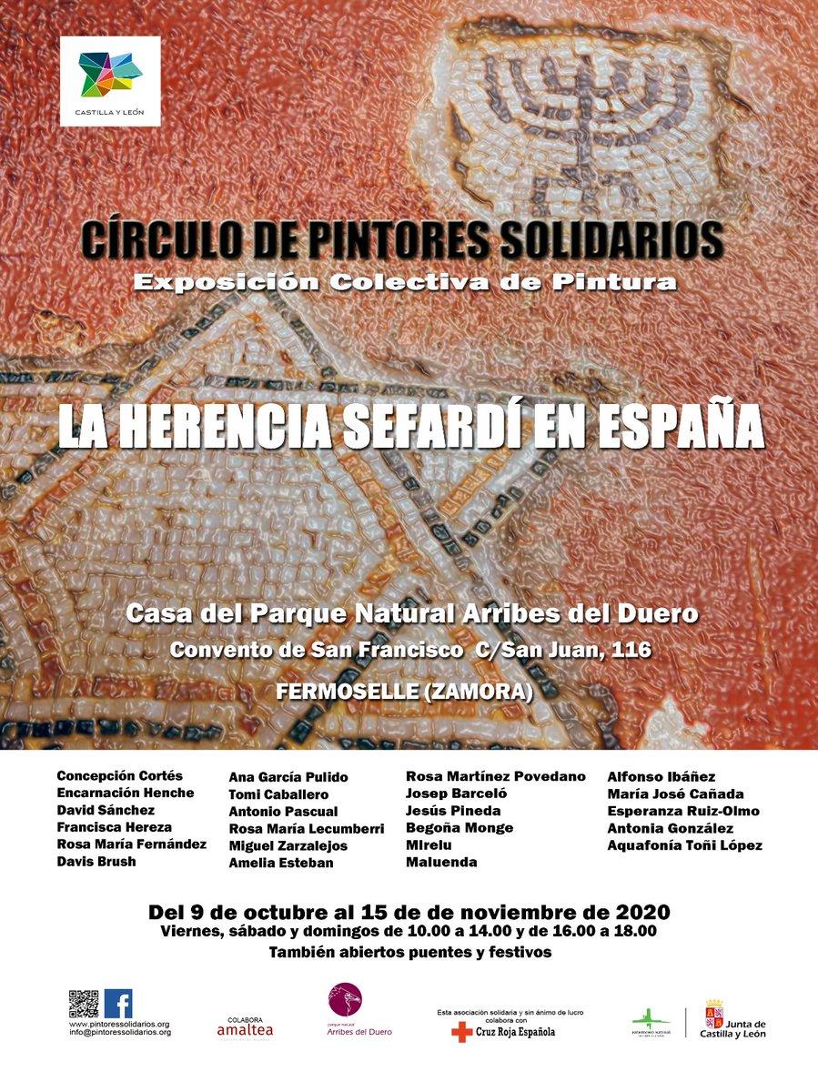 """En la Casa del Parque de #Fermoselle puedes visitar la exposición colectiva """"La herencia sefardí en España"""" #Muyinteresante #Zamora https://t.co/FPekemLOb0"""