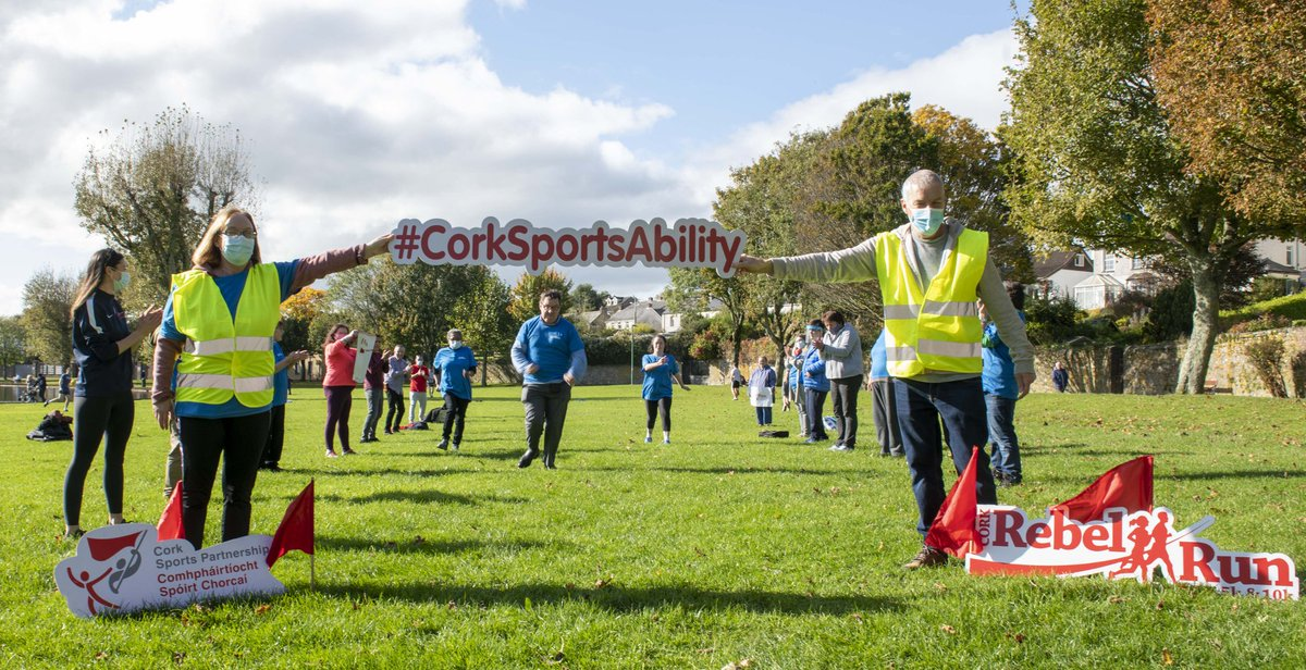 Across the finish line of the #RebelRunAMile2020 💥  Huge Congratulations to the adults in L'Arche Community Cork who completed the #RebelRunAMile2020 at The Lough and received their well deserved medals 🥳  #KeepCorkActive #CorkSportsAbility  #ActiveCorkOutdoors https://t.co/kLrIaGy6IH