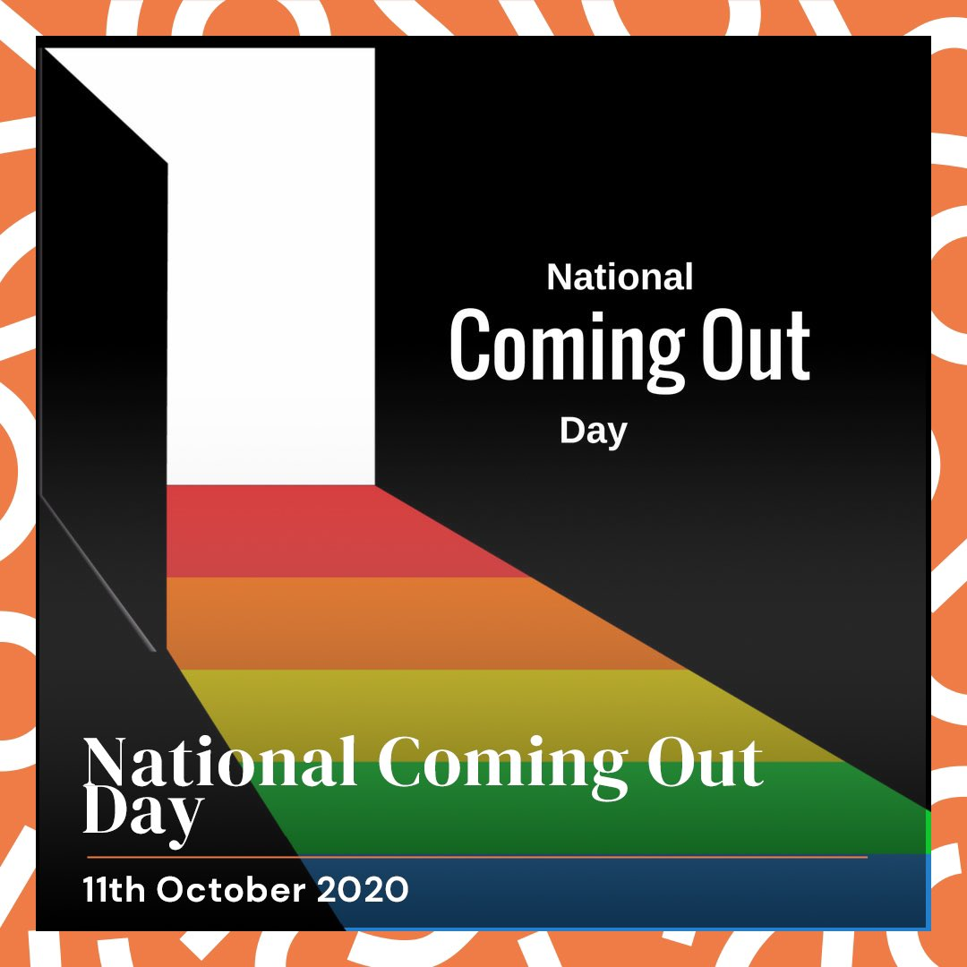 Happy National Coming Out Day! 🌈