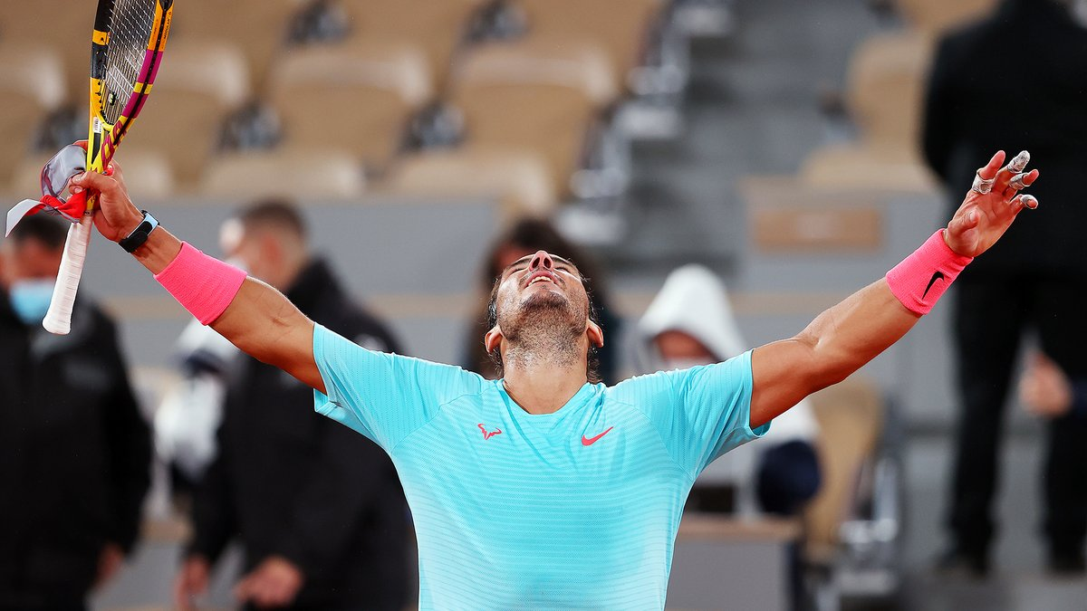 🏆 🏆 🏆 🏆 🏆 🏆 🏆 🏆 🏆 🏆 🏆 🏆 🏆 🏆 🏆 🏆 🏆 🏆 🏆 🏆 And not stopping now.     @RafaelNadal makes it 20 Major titles. #YouCantStopUs