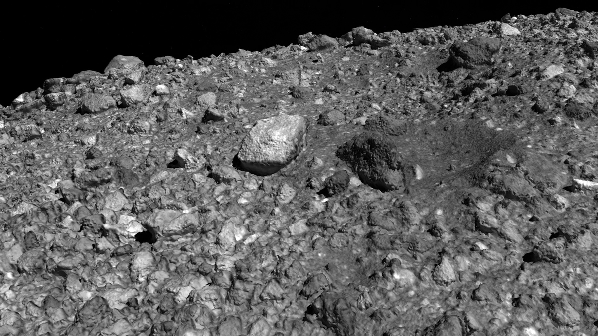 Spend a few minutes rockin out this weekend. Our @OSIRISREx mission is getting ready to tag the asteroid Bennu to bring home a sample in 2023. Take a tour highlighting the different kinds of rocks covering Bennus surface: youtu.be/QunVAWABQSc