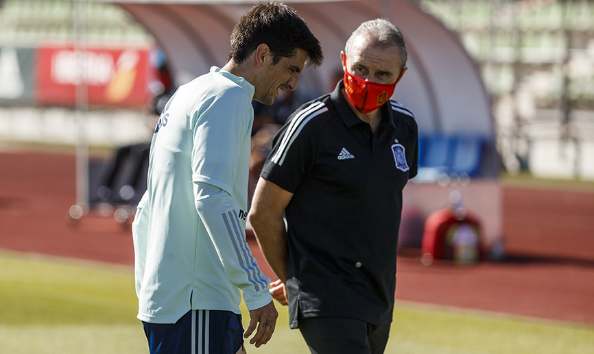 Gerard Moreno, lesionado con España (Foto: SeFutbol).