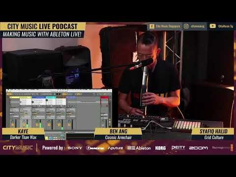 Our tutor Ben @cosmicarmchair takes us through his live performance setup with #Ableton #AbletonPush #KorgMinilogue for #livejam #livebeats https://t.co/bd5KvT5e9K https://t.co/LZxF3AfRVL