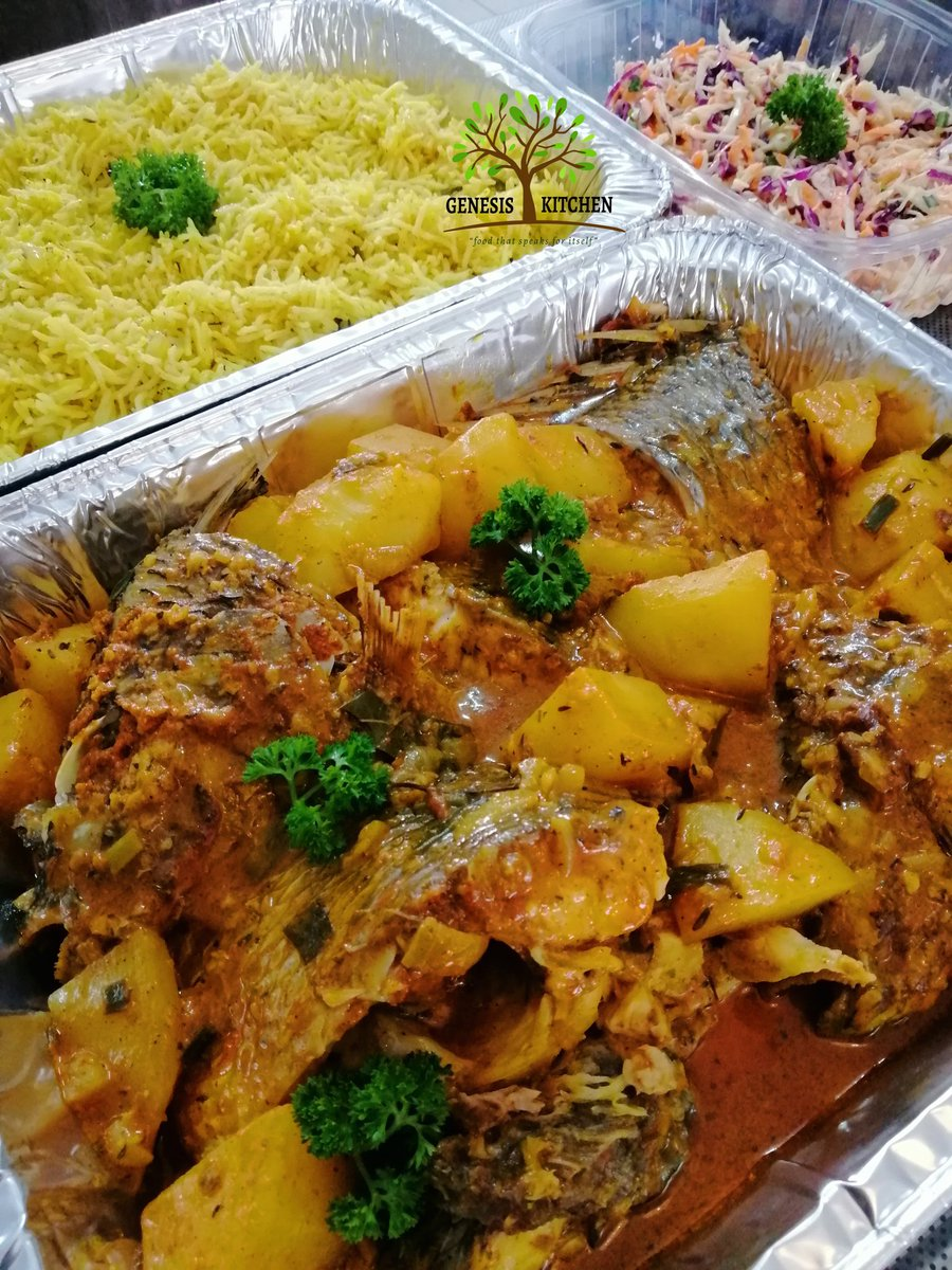 Genesis Kitchen On Twitter Famous Fish Curry Served With Fragrant Rice And Crunchy Slaw Delivered Order Yours Now Via Dm Kelvinmotsi1 Hope You Enjoyed Your Sunday Lunch Redmarketsunday Https T Co 7rtmtyxbsc