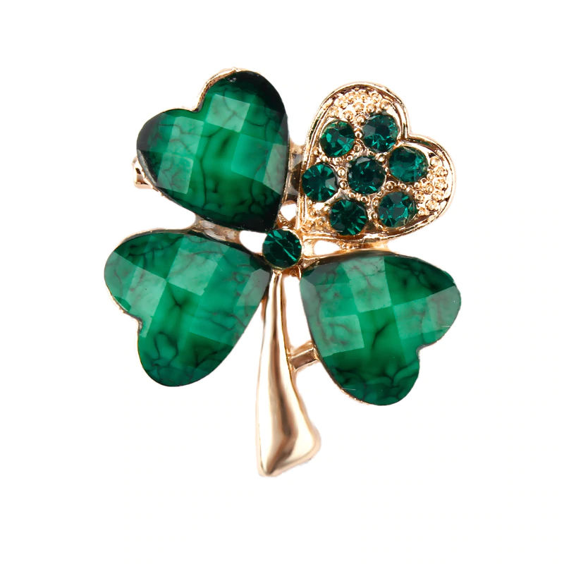 Clover brooch #pin badge #charm #beads #gift #gifts #christmas  #gift #gifts #ring #pendant #fashon #necklace #earrings