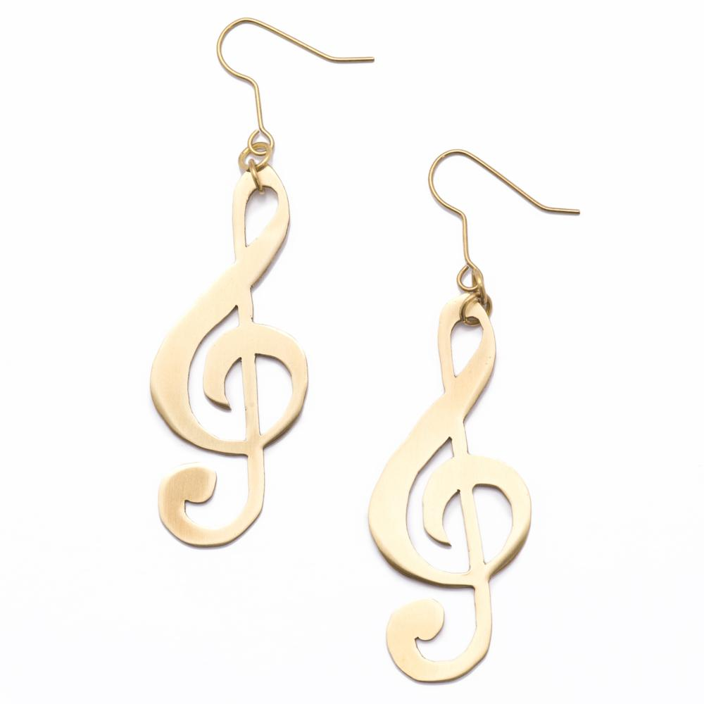 musical note earrings #charm #beads #gift #gifts #christmas  #gift #gifts #ring #pendant #fashon #necklace #earrings